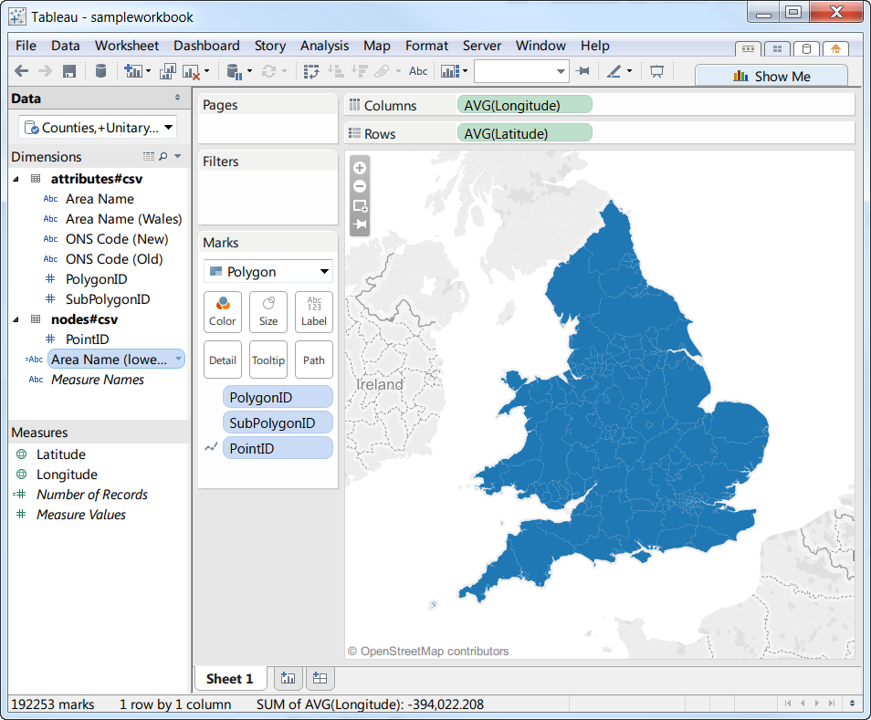 Mapping And Filtering Data With Custom Polygon Maps Tableau Public - Location mapping software