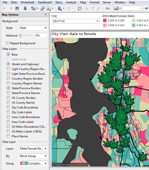 Quick Design Tips For Maps Tableau Public - Get tableau map to just show us