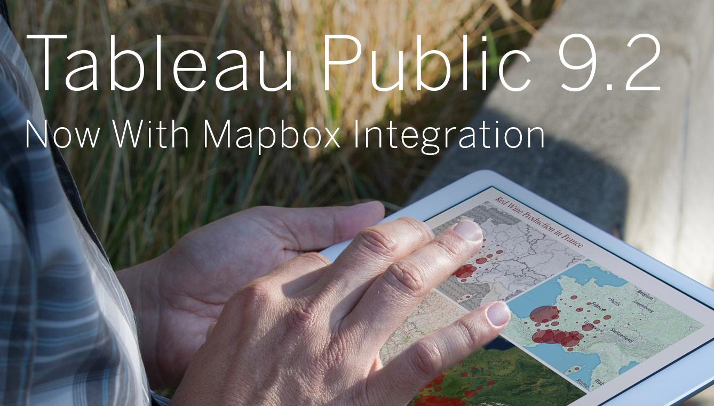 Tableau Public 9 2: Now With Mapbox Integration | Tableau Public