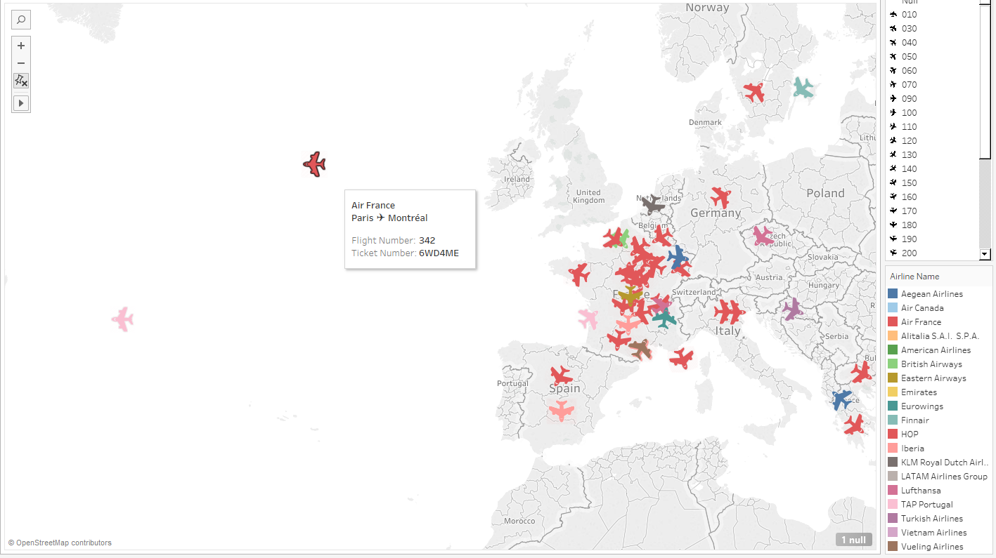Your FlightRadar24-like viz!