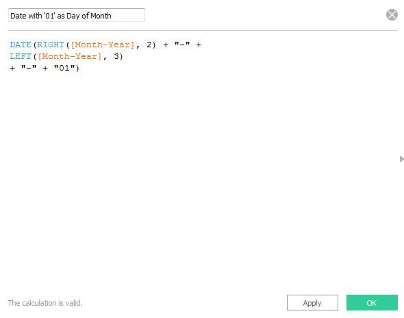 Create a Calculated Field 2