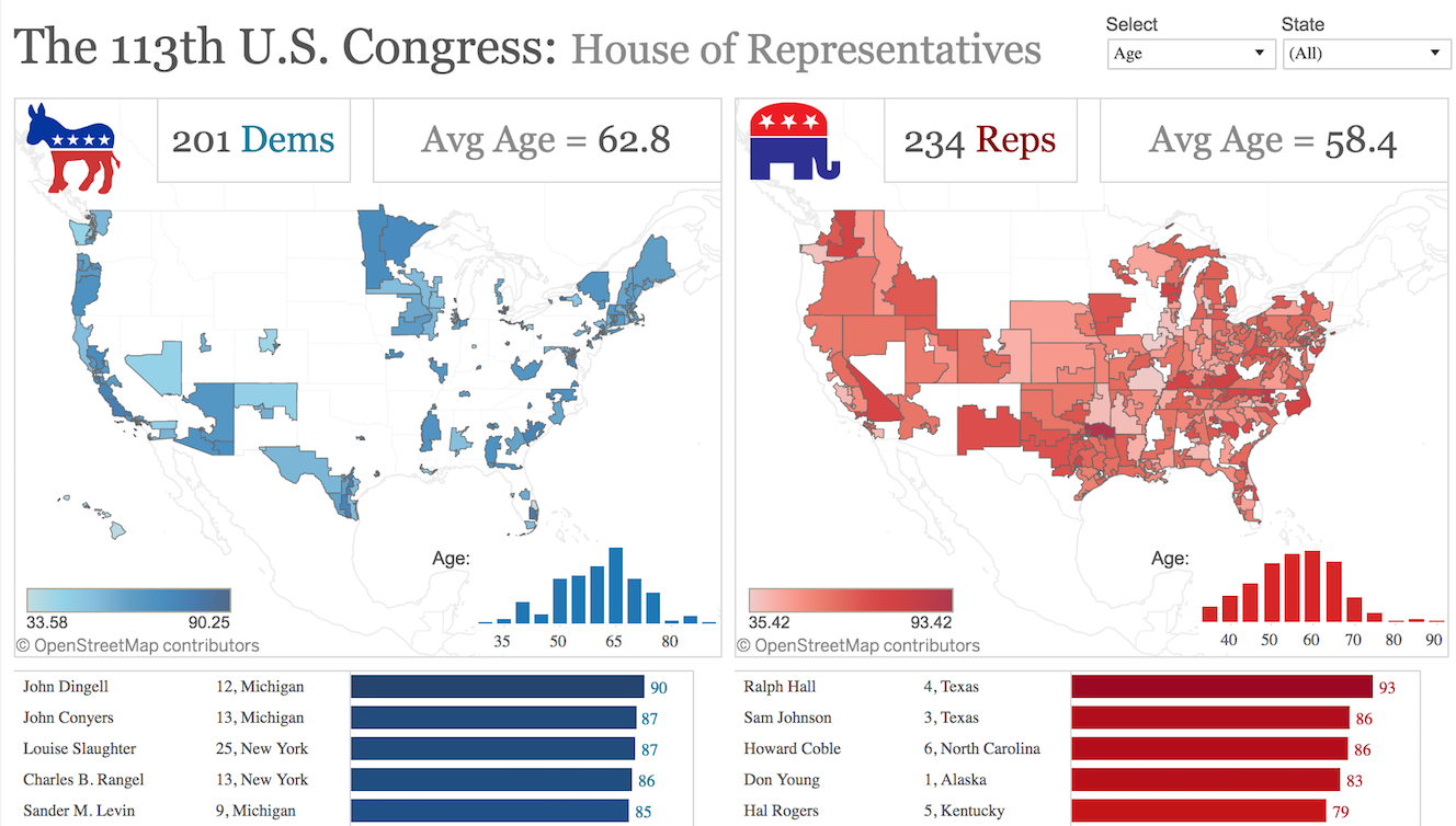 How to Map US Congressional Districts Using Tableau | Tableau Public