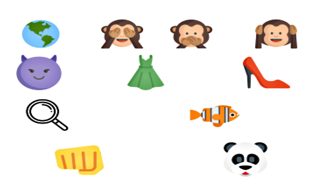 A game to guess the movie title only through Emoji's.