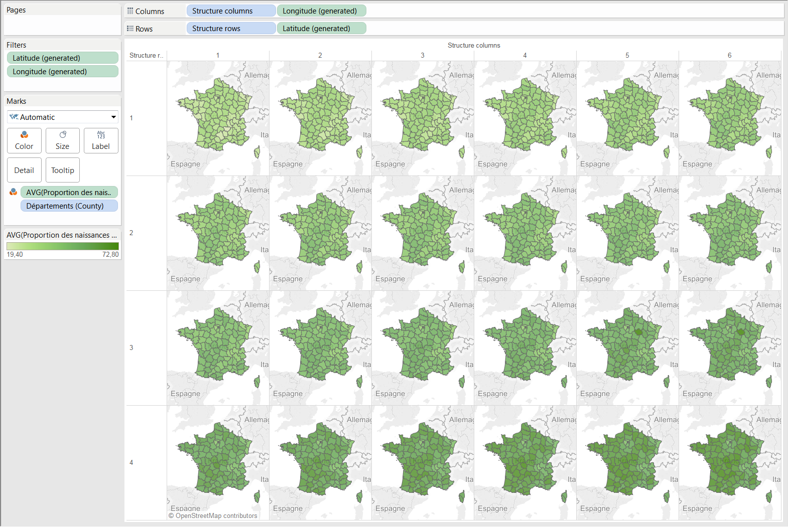 Showing Trends over Time and Space? Use Small-Multiple Maps ...