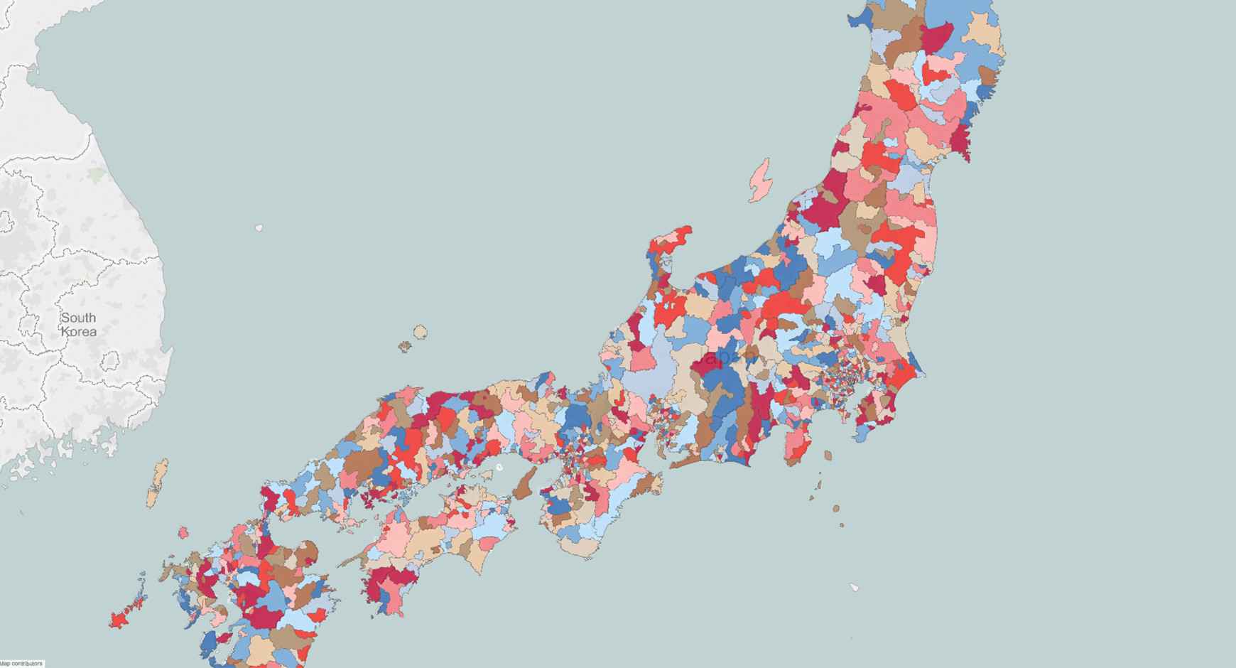 Japan Postal Codes