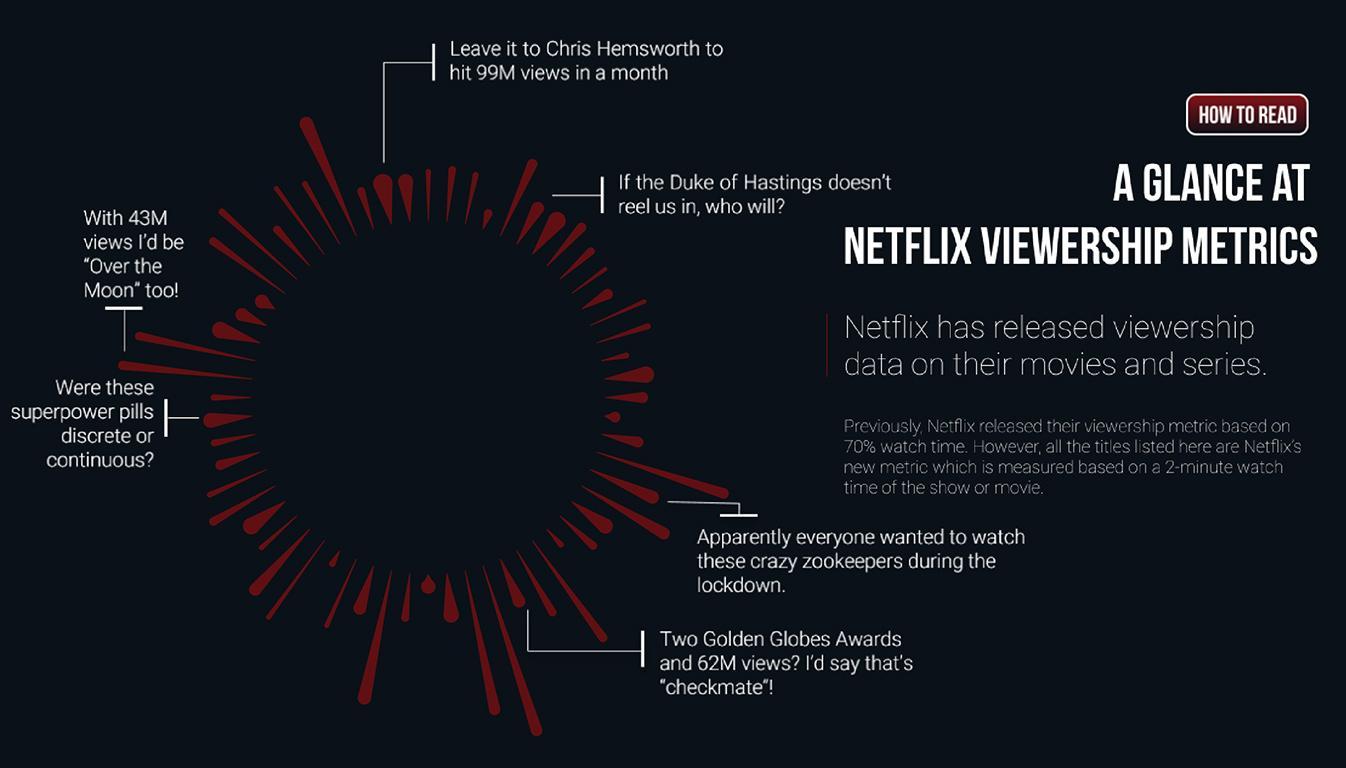 Viz about Netflix Viewers