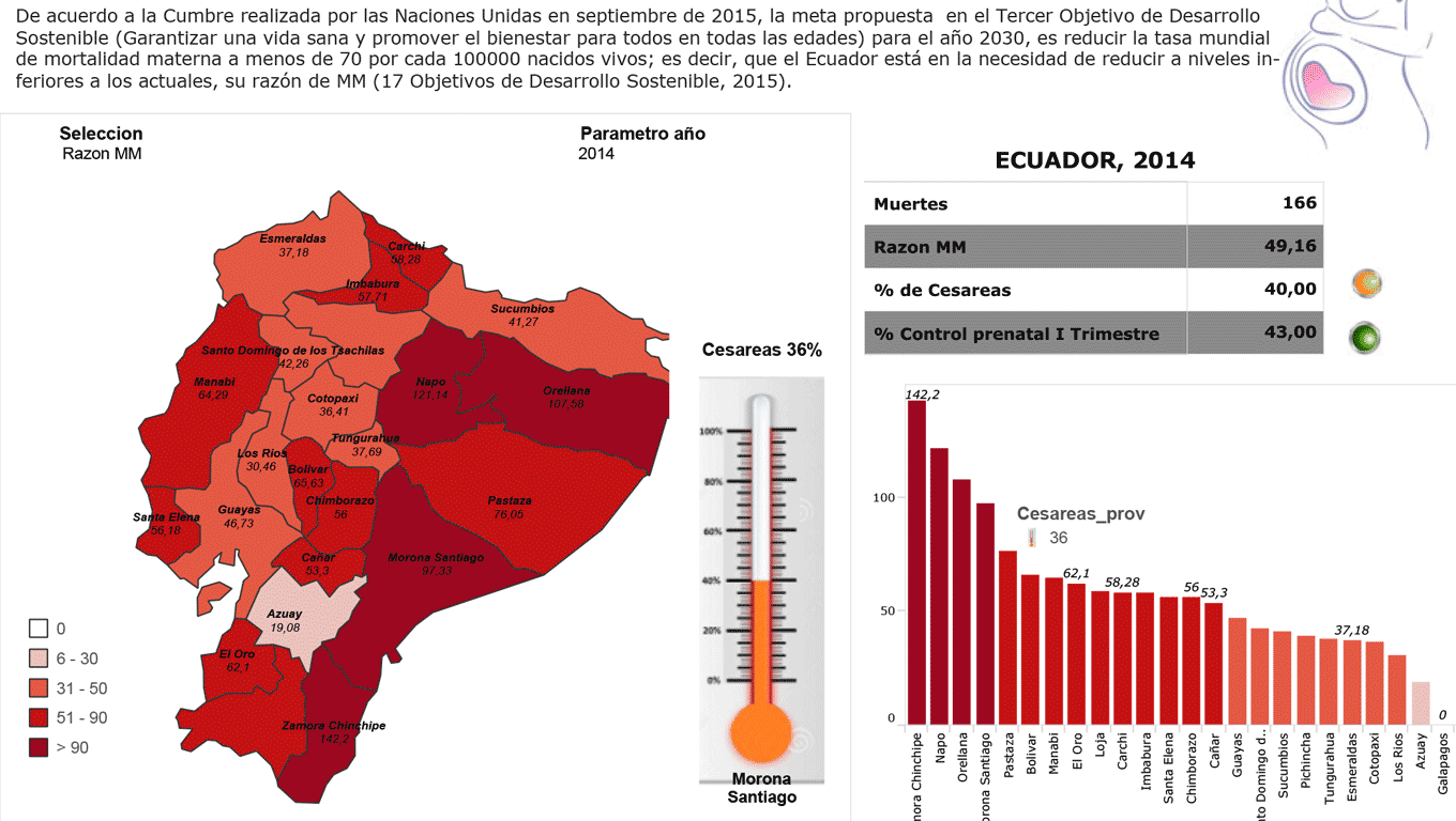 Maternal Mortality Rate in Ecuador