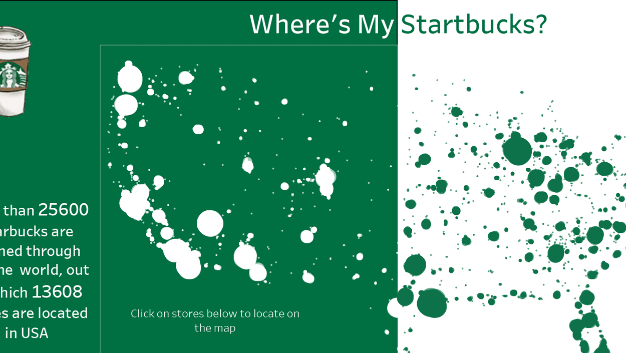 Find Your Starbucks in the US