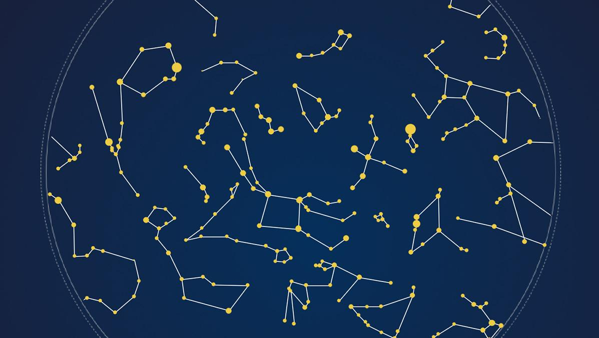 Constellation map using Tableau