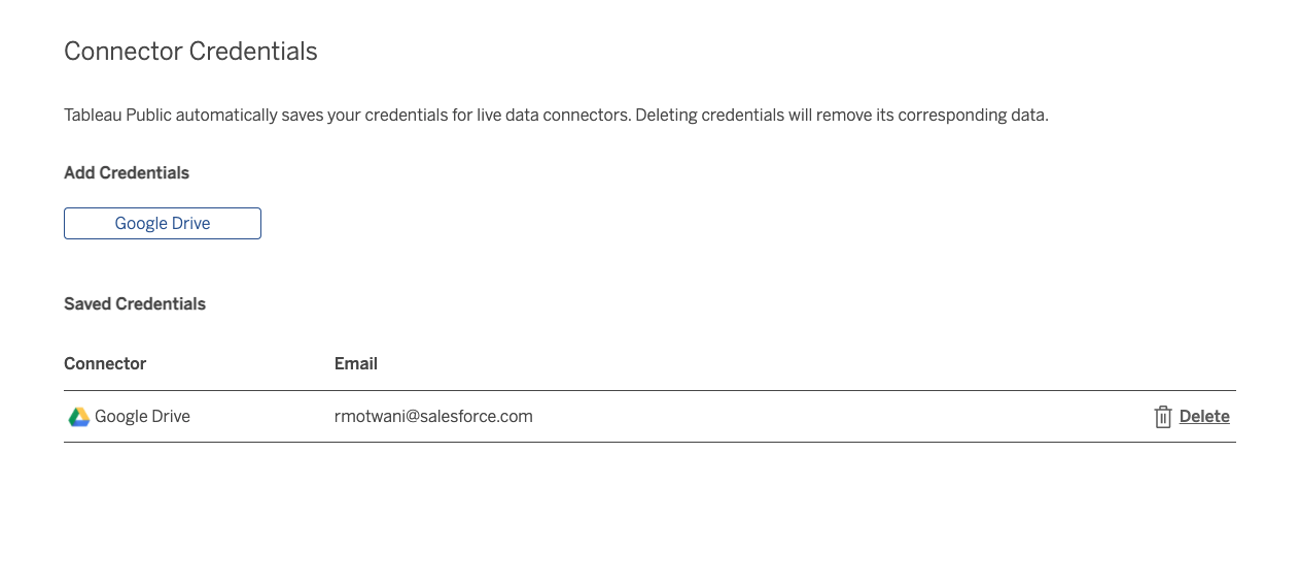 Web Authoring Tableau