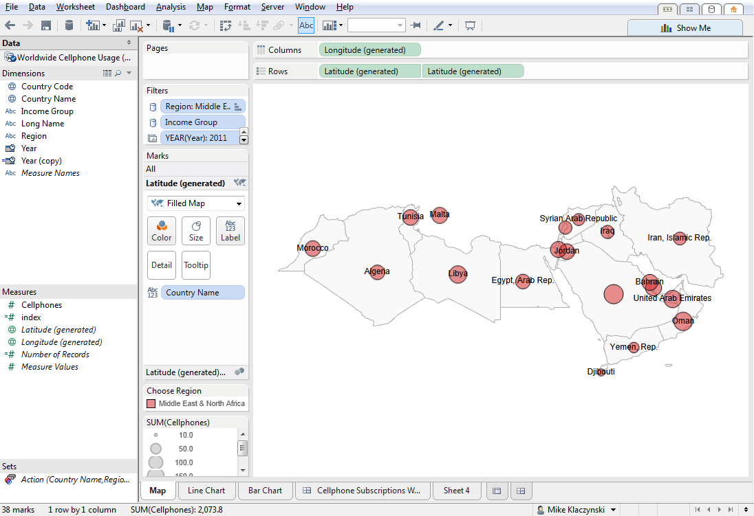 going dual axis on maps tableau public