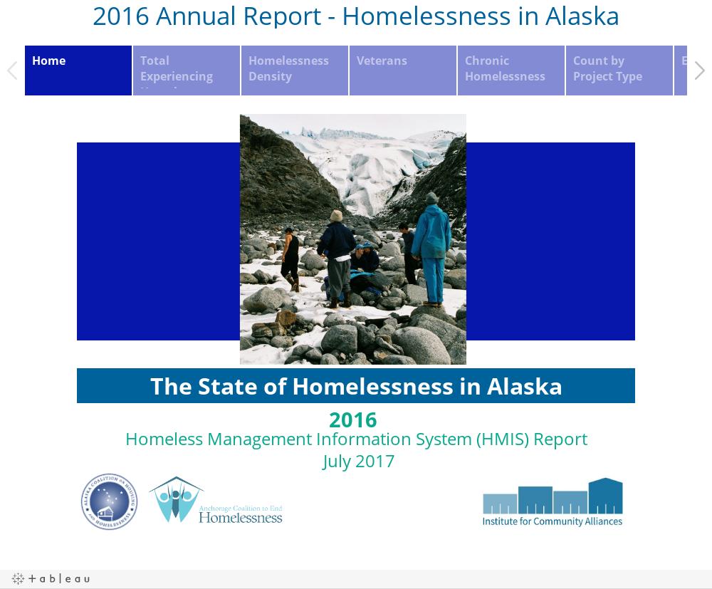 2016 Annual Report - Homelessness in Alaska