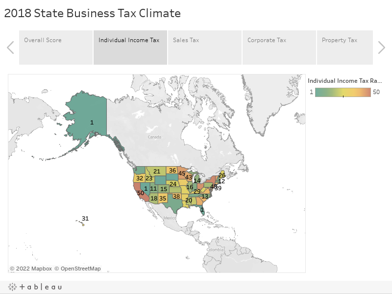 2018 State Business Tax Climate