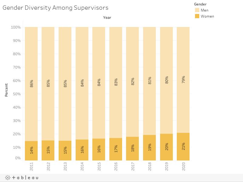 Gender Diversity Among Supervisors