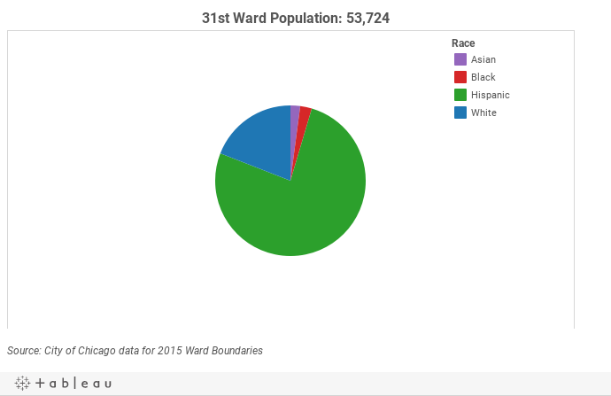 31st Ward Demographics