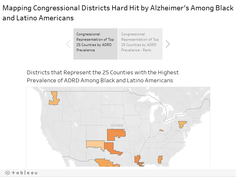 Mapping Congressional Districts Hard Hit by Alzheimer