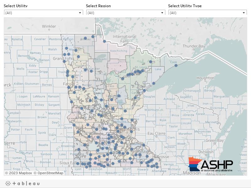 ASHP Utility Rebates