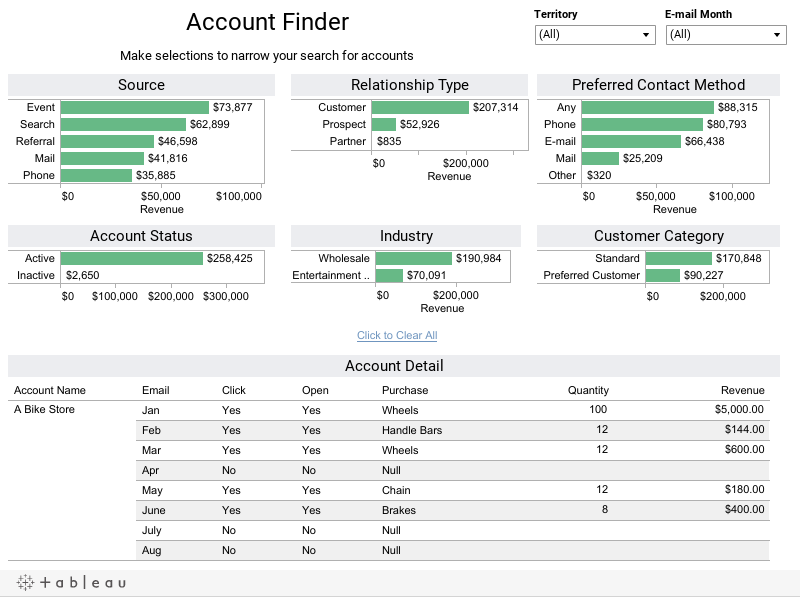 Account Finder