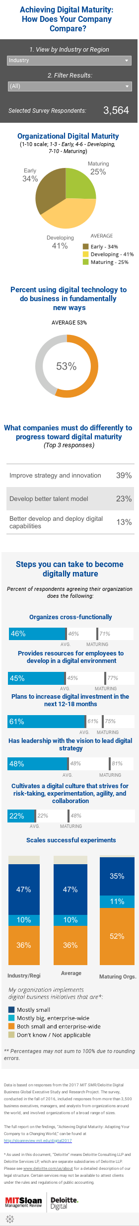 Achieving Digital Maturity Mobile