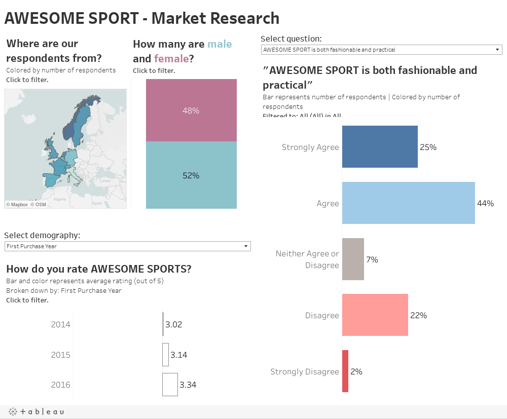 AWESOME SPORT - Market Research