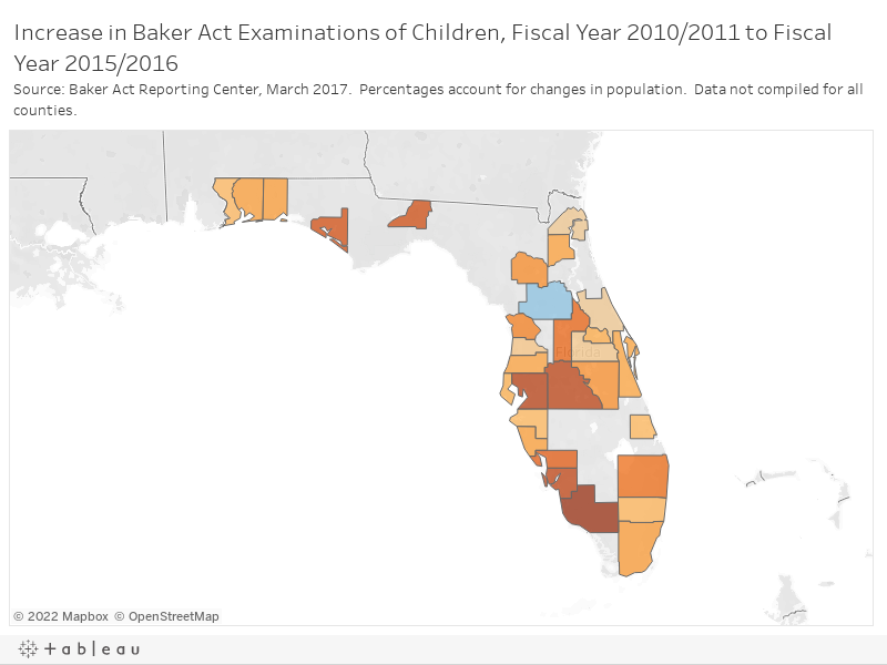I Team Number Of Children Held Under Baker Act Growing