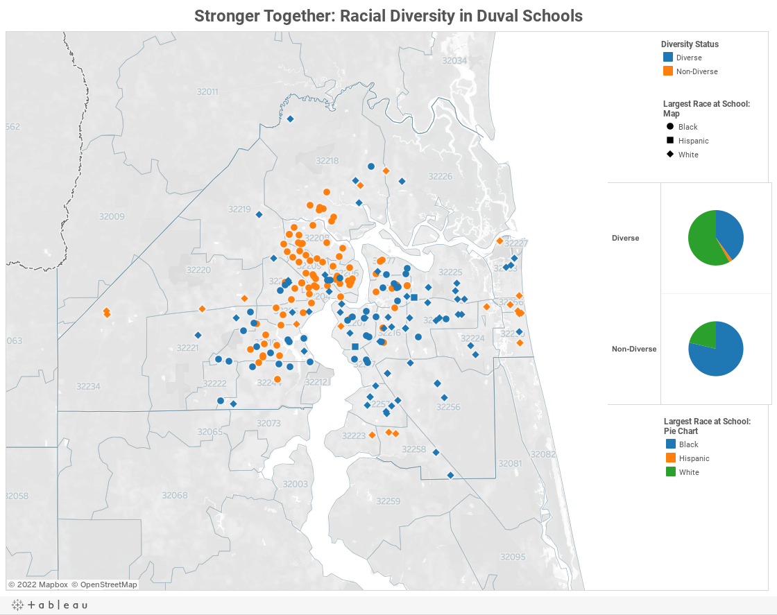 Stronger Together: Racial Diversity in Duval Schools