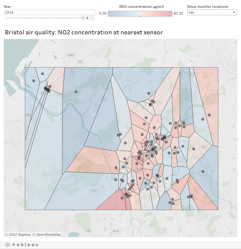 Visualising air quality data with Voronoi diagrams | Modulo Errors