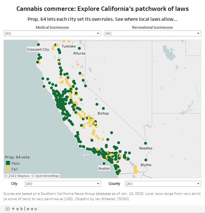 Marijuana Growing Areas California Map.Marijuana Laws For Every City And County Our Database Shows