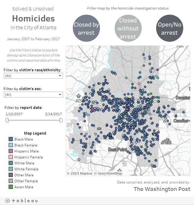 COA Homicide Map