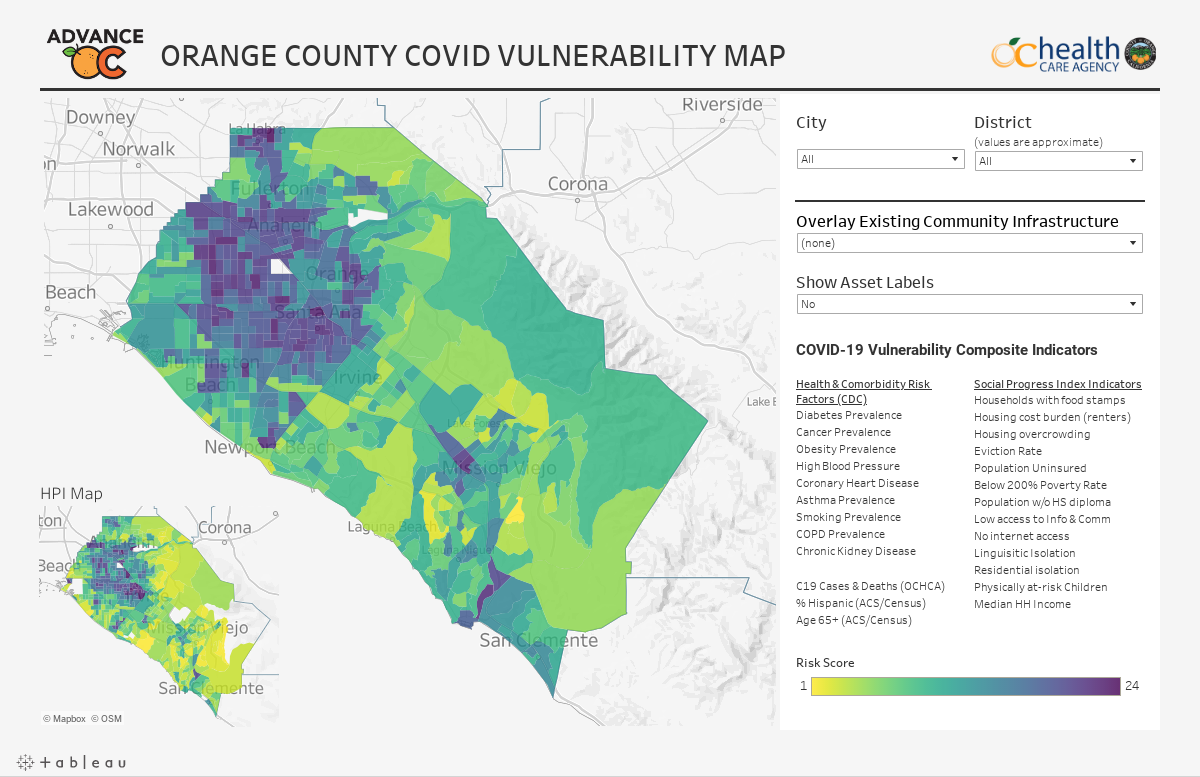 9.1 COVID Vulnerability Map