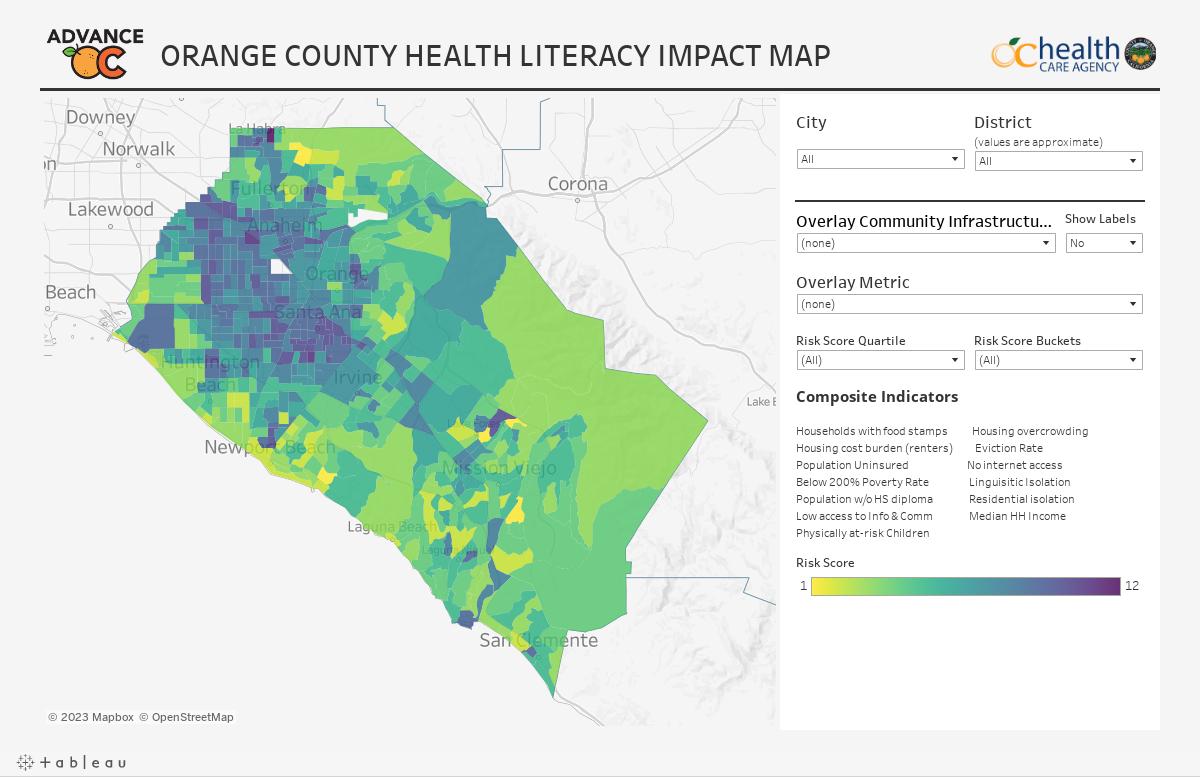9.3 Health Literacy Impact Map