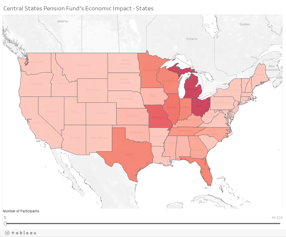 CSPF Economic Impact - States
