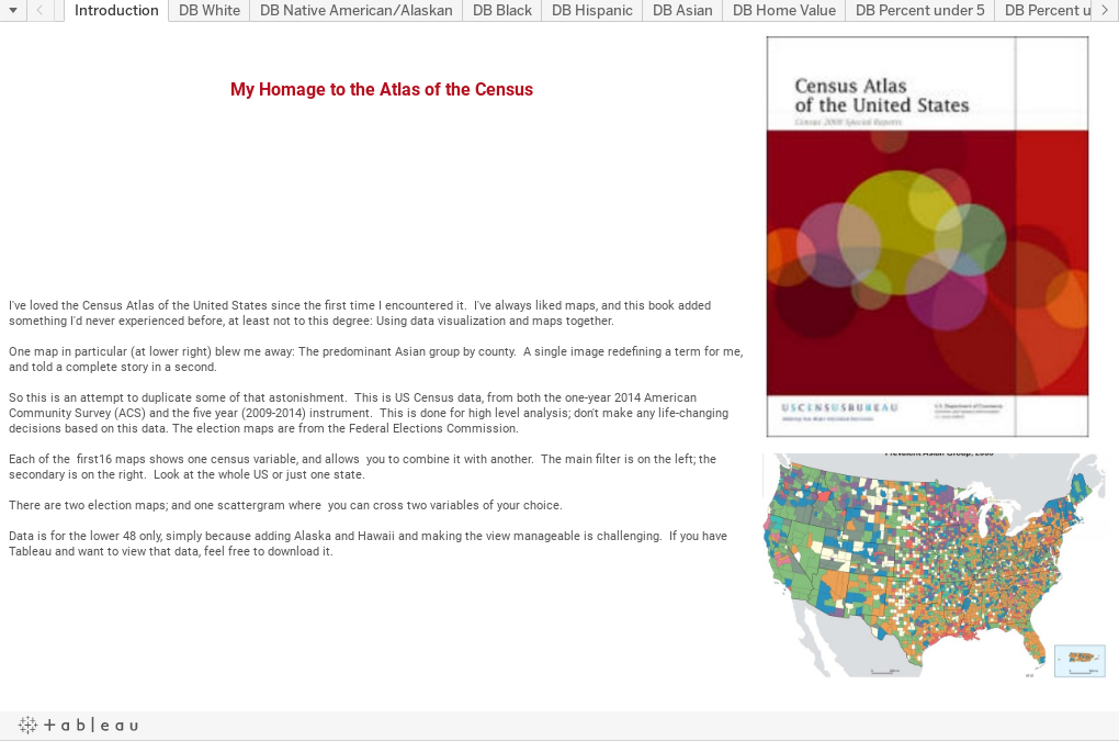 Higher Ed Data Stories: My homage to the Atlas of the Census