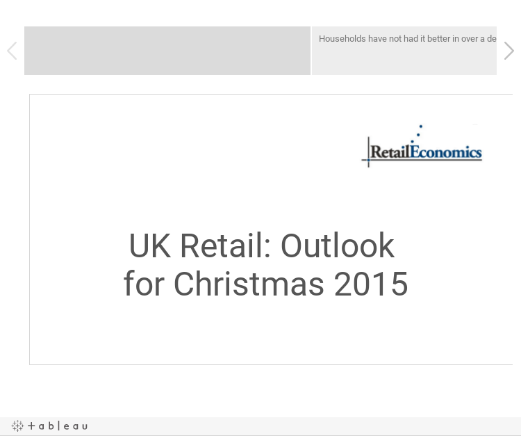 UK Retail Sector: Outlook for Christmas 2015