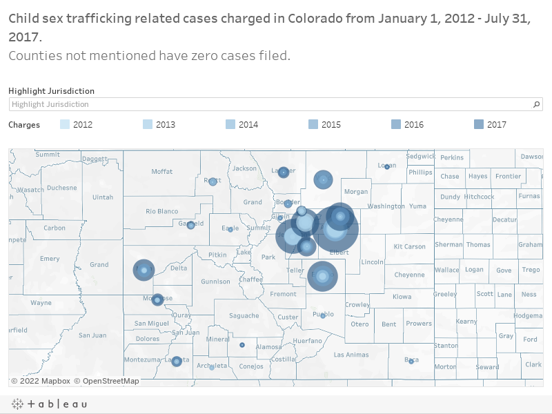 Sex trafficking of Children in Colorado Reaches Every Corner