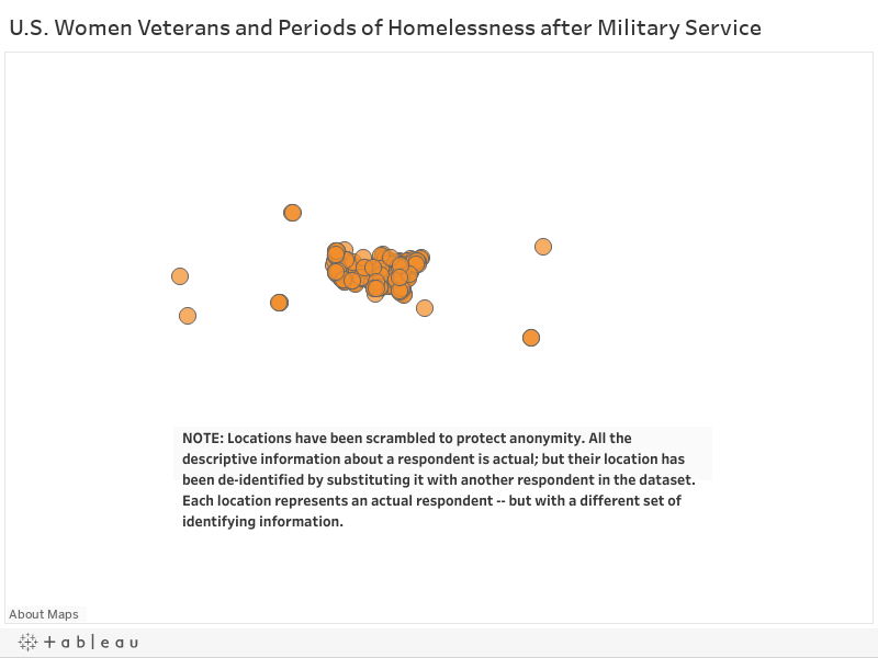 U.S. Women Veterans and Periods of Homelessness after Military Service