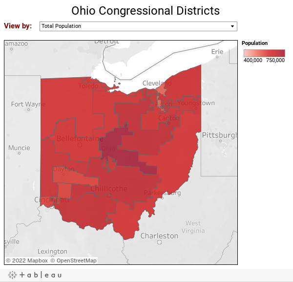 Ohio Congressional Districts