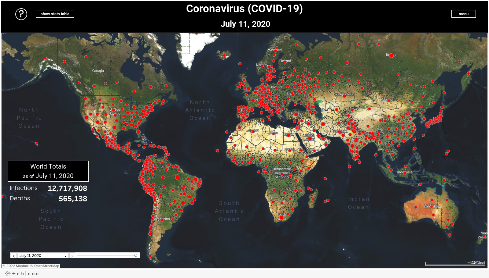 DB World Map