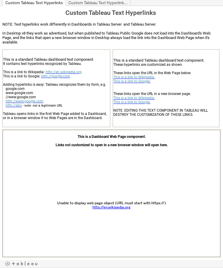 Printable Worksheets local government worksheets Tableau Friction: Dashboard Text Links - Adding and Customizing ...