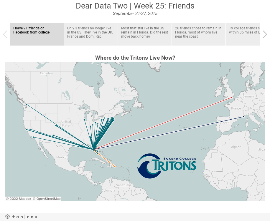 Dear Data Two | Week 25: FriendsSeptember 21-27, 2015