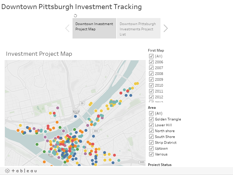 Development Activity - Downtown Pittsburgh on