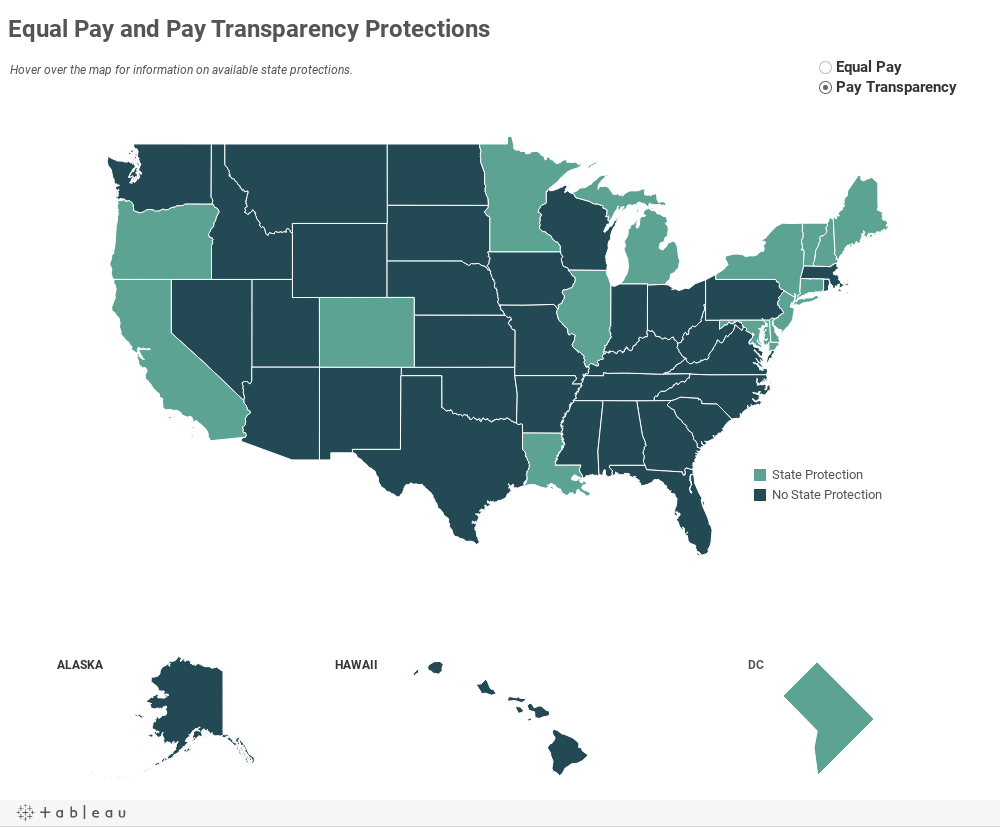 Equal Pay and Pay Transparency Protections