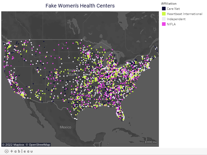 Fake Women's Health Centers