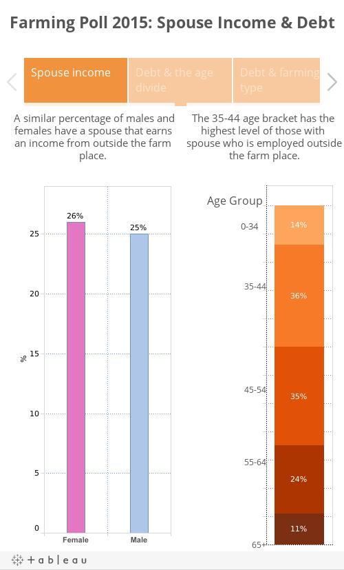 Farming Poll 2015: Spouse Income & Debt