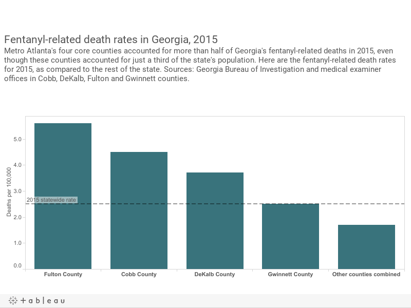 A Painkillers Deadly Price Fentanyl Epidemic Robs Georgia Family