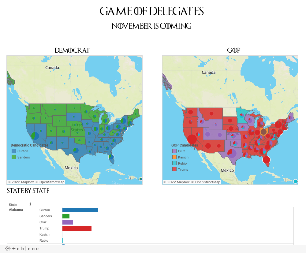 FileUS States By The Delegates Democratic Party Svg Results - Us delegates map