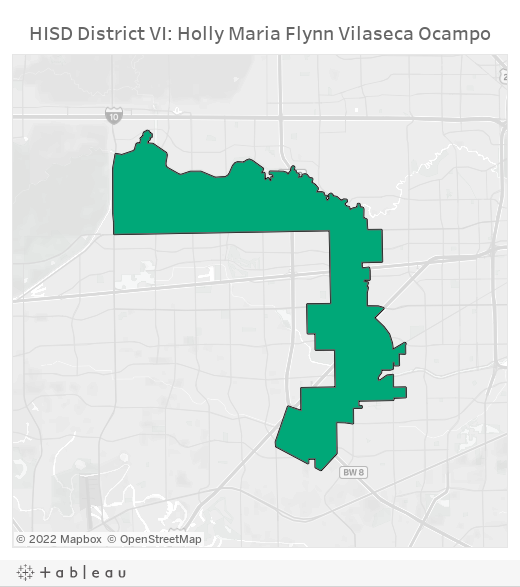 HISD District VI: Holly Maria Flynn Vilaseca Ocampo