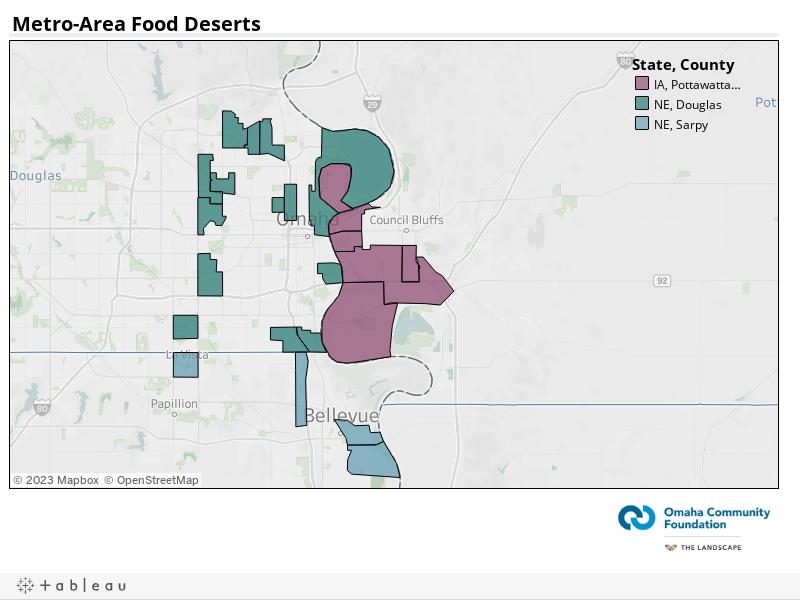 Metro-Area Food Deserts