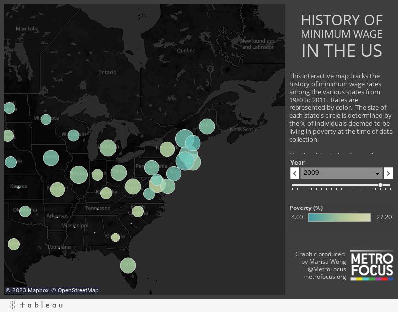 HISTORY OFMINIMUM WAGEIN THE US