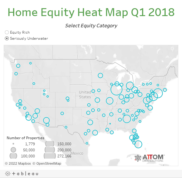 Home Equity Heat Map Q1 2018